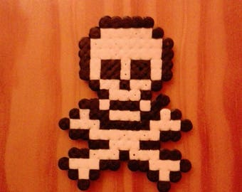 Hama Beads Skull and Bones Pirate
