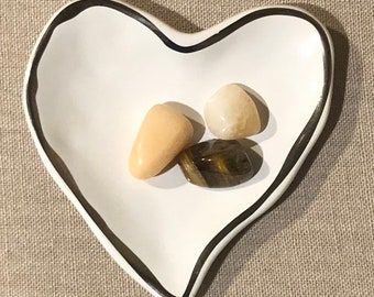 Money crystals - healing crystals - tumbled stones - healing bag -