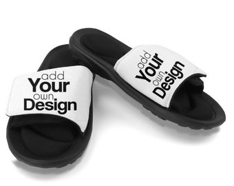 ec33a7a4d Custom Slides Sandals Great Valentines Day Gift
