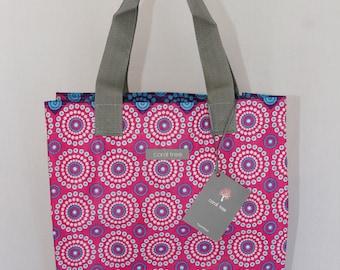 Beach Bag/Shopper - Pink Starburst