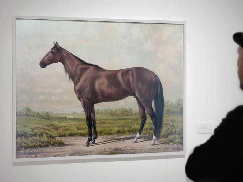 Horse PrintHorse Wall Art Minimalist ArtHorse Art Modern image 0