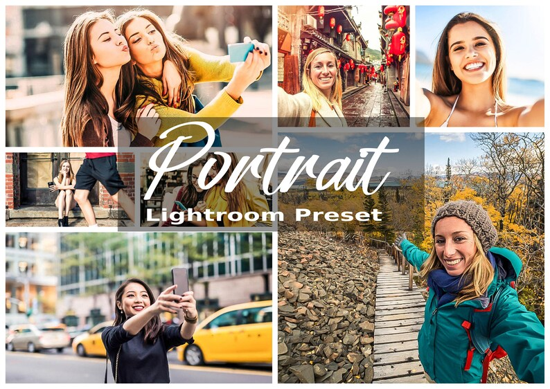 4 DESKTOP Lightroom Presets Portrait Desktop Presets image 0