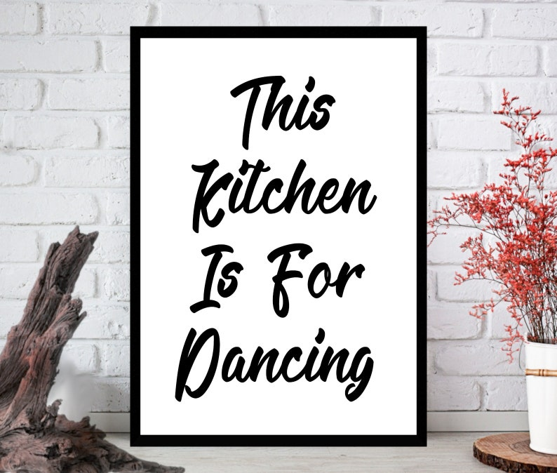 Kitchen PrintKitchen Wall Art Kitchen ArtKitchen Wall Art image 0