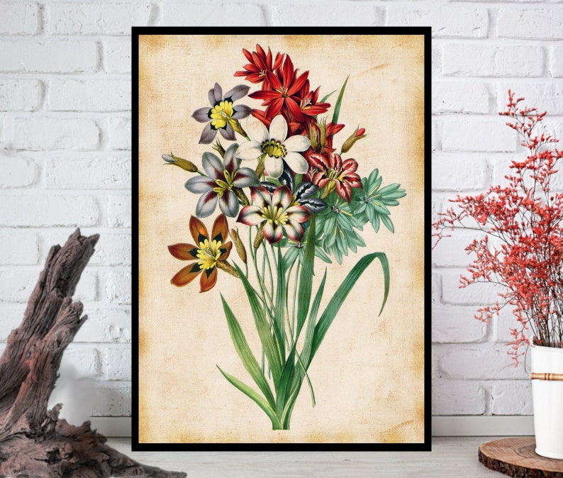 Wall Art Flowers Wall Decor  Flowers Wall Hanging  Flowers image 0