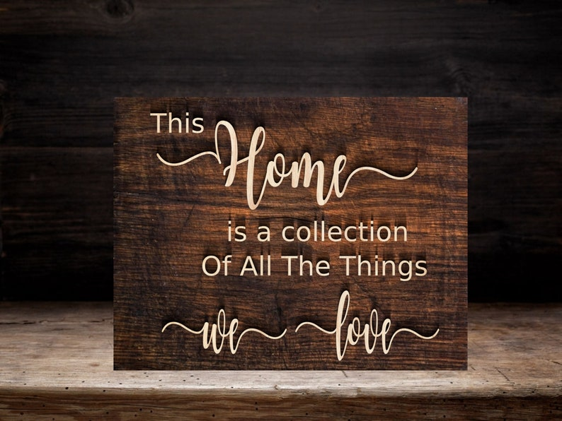 Home SVG Cut File. This Home is a collection of all the things image 0
