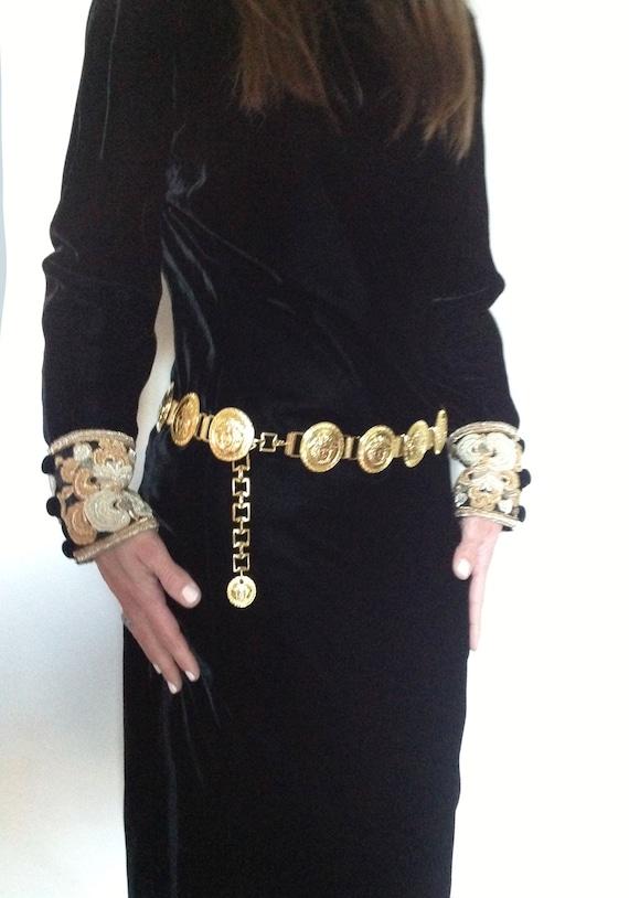 VERSACE 90s-Versace Belt 90s jellyfish belt