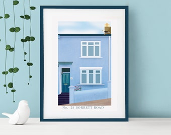 House Portrait | Custom Home Print | Personalised Gift | House Warming Gift