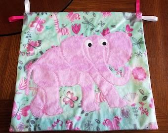 Elephant Pocket Lovey