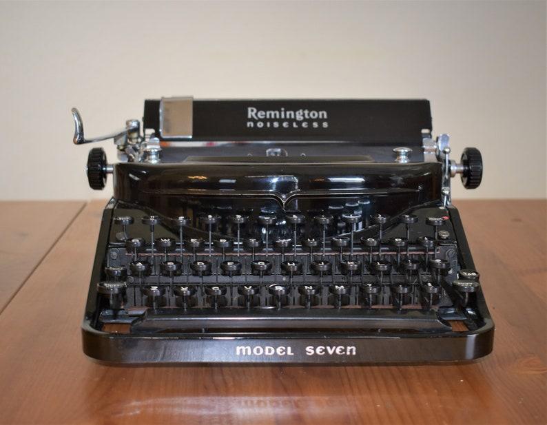Remington Noiseless Model Seven circa 1936