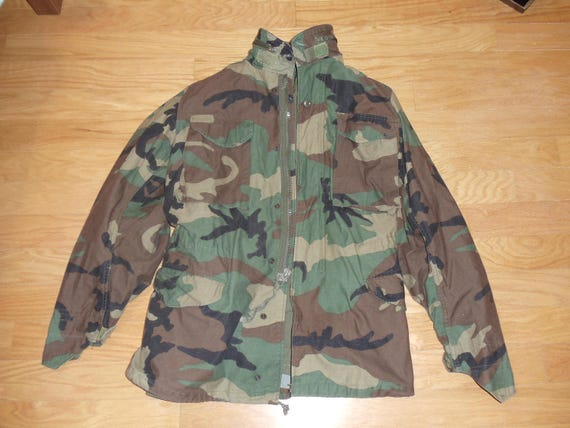 US Army Coat Cold Weather  Field Jacket Small Long  668a6f2fccf
