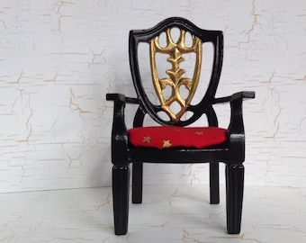Miniature Black Chair