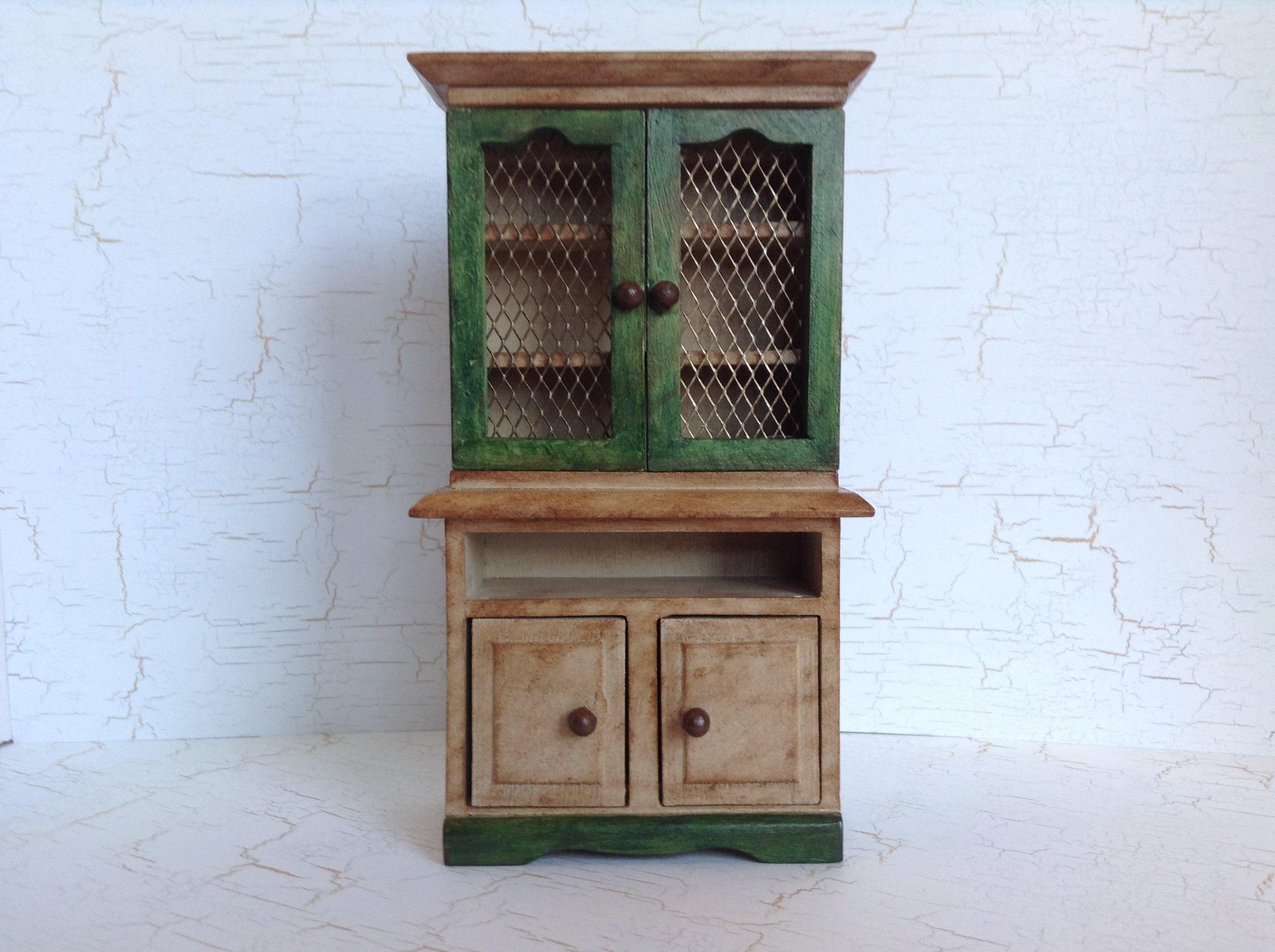 Dollhouse Miniature Cabinet / Cupboard | Etsy