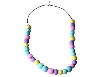 Handmade Spring Beaded necklace