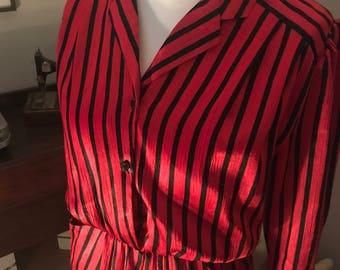 1980s power dress