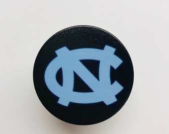 North Carolina Tarheels Expanding Phone Pull Out Grip Stand Holder Mount for Phones & Tablet
