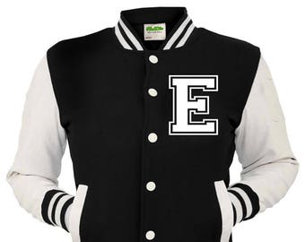 de14aa4ab3 Personalized Black American Varsity Jacket
