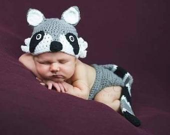 Baby Raccoon Set
