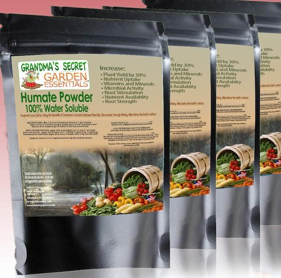 Grandmau0027s Secret Garden Essentials Humate Powder 100% | Etsy