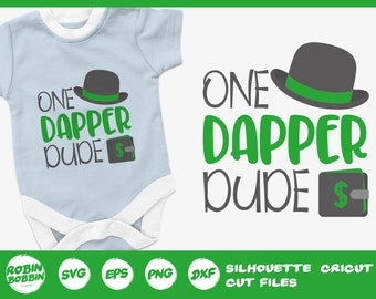 Cute Baby Shower Gift Funny /& Cheeky Baby  s One dapper dude Short and Long Sleeve Baby Bodysuit Baby Announcement