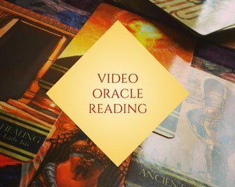 African Tarot Divination Isis Oracle Deck Oracle Reading // Video Tarot Reading
