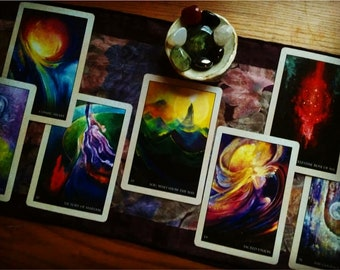 African Tarot Divination Rumi Oracle Deck Oracle Reading Love Based Reading