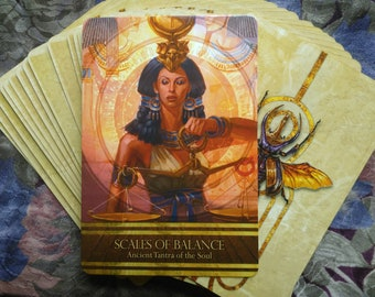 African Tarot Divination Isis Oracle Deck Oracle Reading 1 card
