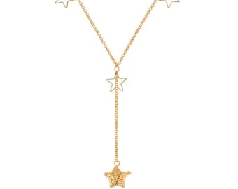 Essential Oils Diffuser Necklace, Star Necklace, Essential Oils Necklace, DarlingJ - DJN18014