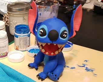 Lilo and Stitch 3D figure, Disney Stitch figurine, Stitch printed figure, Stitch Disney gift toy, Gift for her Disney, Stitch 3D Printed