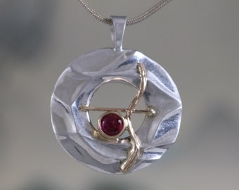 Pink Tourmaline pendant