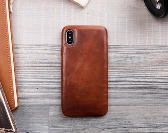 the best attitude 11b7b d7dbd Iphone x leather case | Etsy