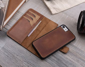 iphone 8 case wallet magnet