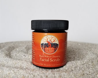 Black Walnut Cleansing Facial Scrub