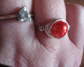 rings, beads, fashion jewelry.