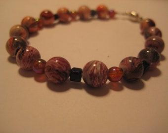 Bracelet, fashion, pearls, homemade
