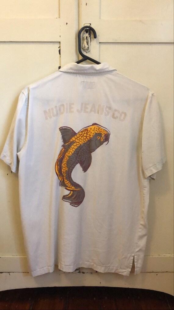 Vintage Nudie Jeans Koi Fish Shirt