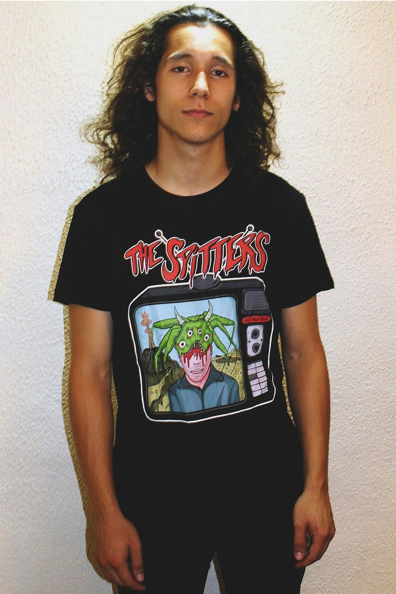 The Spitters  T-shirt Black image 0