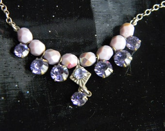 Clara Beau bead and crystal necklace