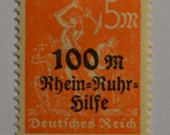 Stamps Germany Weimar Republic 1920 - 1923