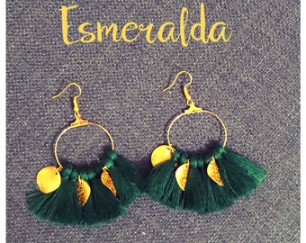 Esmeralda earring