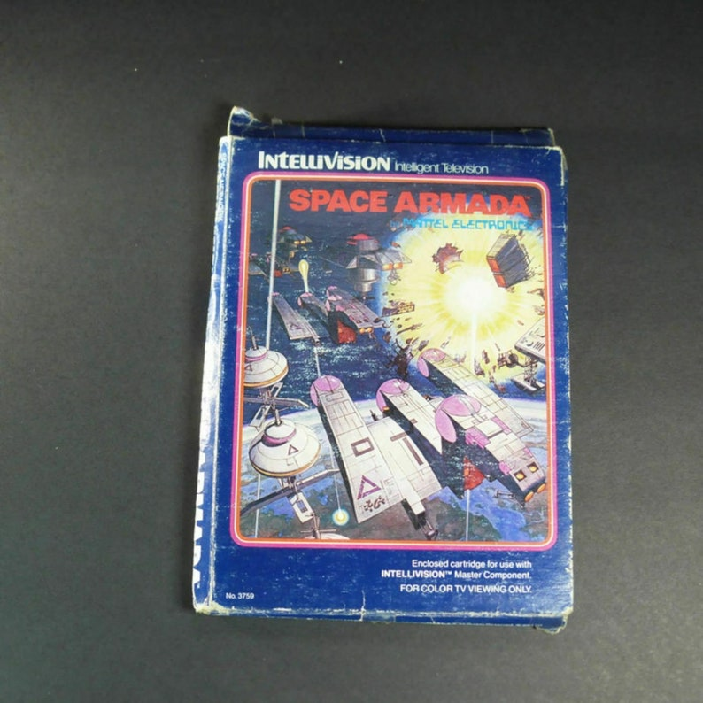 INTELLIVISION Space Armada 2 Overlays USA Version