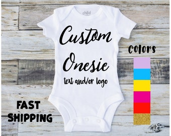 6a91ef6d8d0a Colored baby onesie