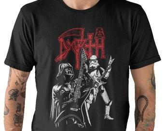 94fb8c8c9 Darth Vader Rock Band- Star Wars Disney Movie Fan T-Shirt Adults Unisex T- Shirts