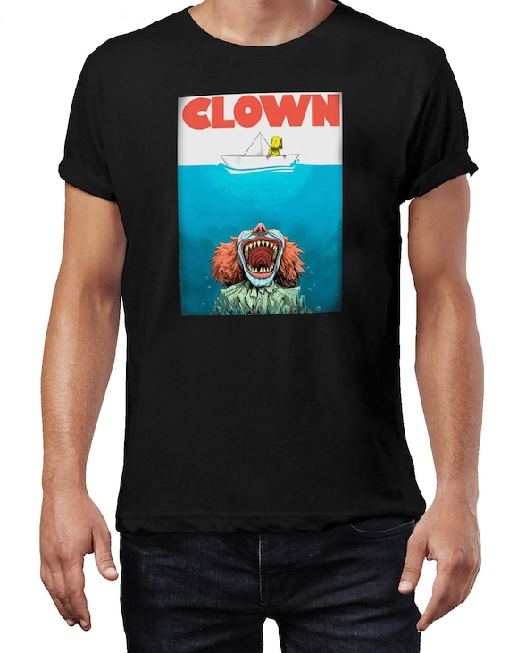 IT Clown Jaws Parody T-shirt for Men - S to 5XL