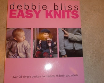 Easy Knits Debbie Bliss Hats Scarves Sweaters Adult Children