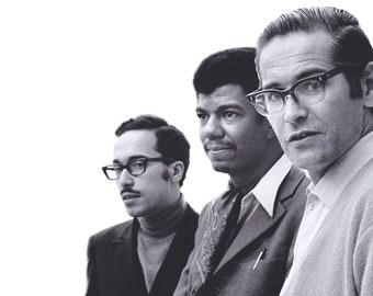 Bill Evans vintage jazz minimalist poster 36x24