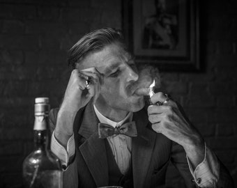 "PEAKY BLINDERS Arthur Shelby  PICTURE CANVAS WALL ART /""18X24/"""