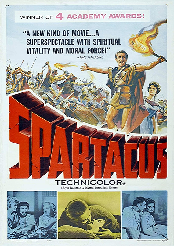 Spartacus A3 Poster 4