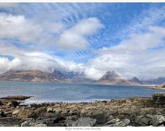 "Limited Edition Scottish Highlands, ""Elgol to Loch Coruisk"" Print"