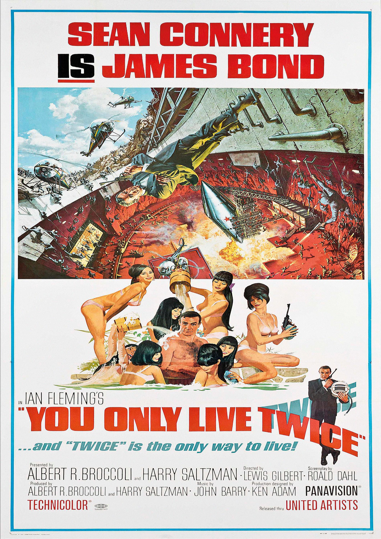 A4,A3,A2,A1 THUNDERBALL 5 Home Wall Print Vintage Movie Film Poster