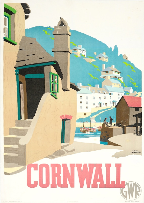 "Reproduction Vintage Seaside Poster Home Wall Art /""Brighton/"""